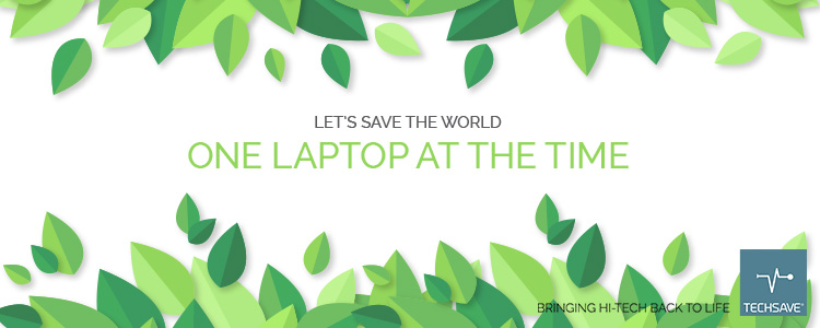 LETS SAVE THE WORLD – one laptop at the time