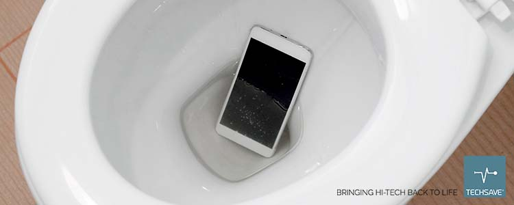 I dropped my phone in the toilet!