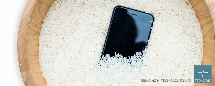 Will rice save your smartphone?