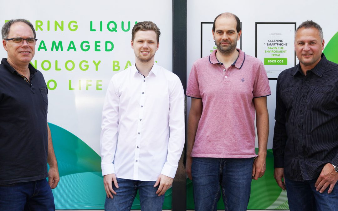 Techsave opens Benelux service center for saving liquid damaged laptops and smartphones
